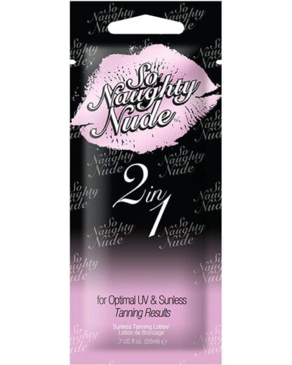 So Naughty Nude 2 In 1 Sunless Lotion - Tan International