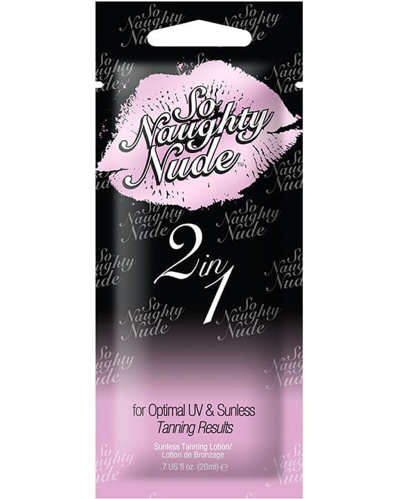 Devoted Creations so Naughty Nude 2 in 1 UV and Sunless